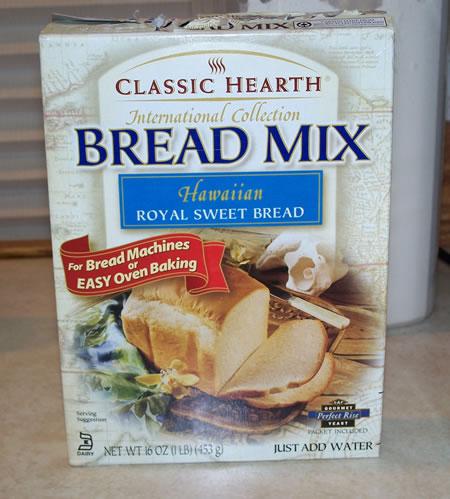 bread machine box mixes