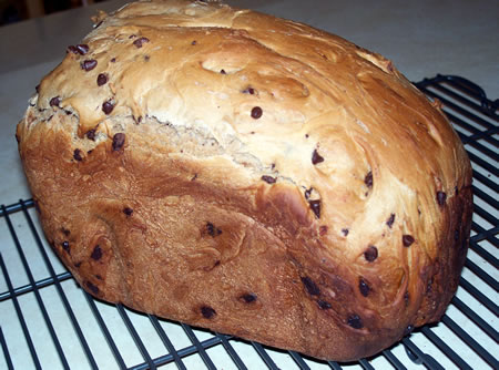 bread machine recipe for chocolate bread
