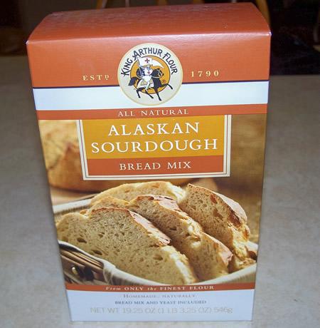 Alaskan Sourdough Yeast Bread