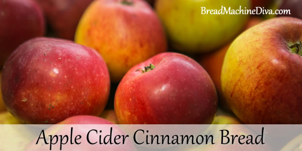 Apple Cider Cinnamon Bread