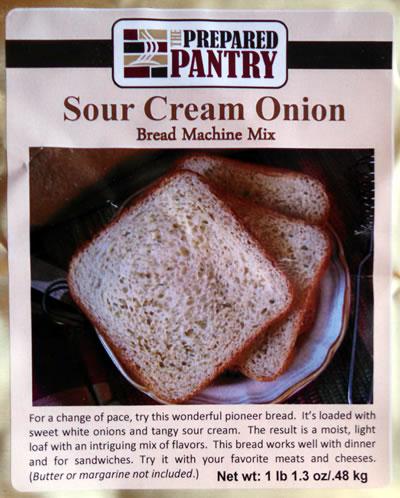 Sour Cream Onion Bread Mix