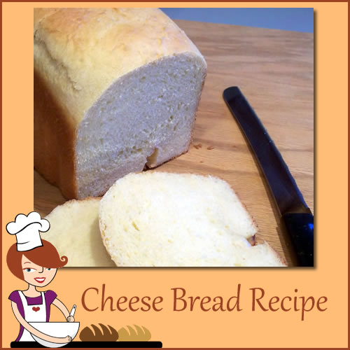 Cheese Bread for Bread Machine