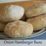 Onion Hamburger Buns