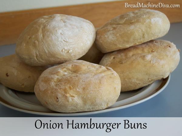 Onion Hamburger Buns