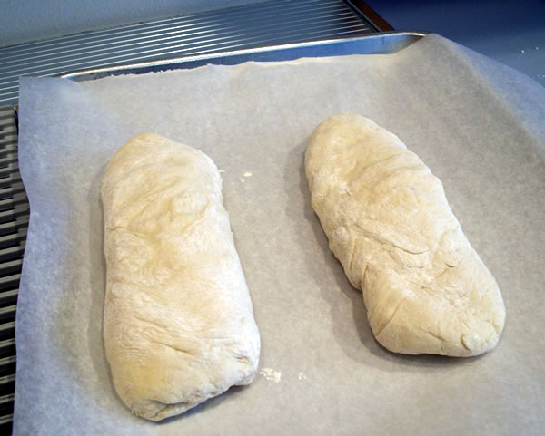 French Bread Shaped