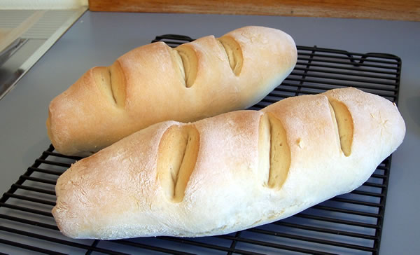 French Bread in the bread machine