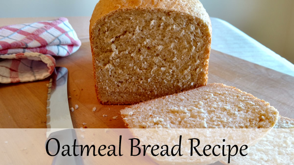 oatmeal bread bread machine