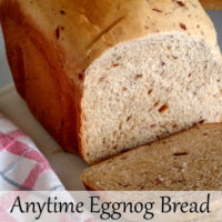 Anytime Eggnog Bread Recipe