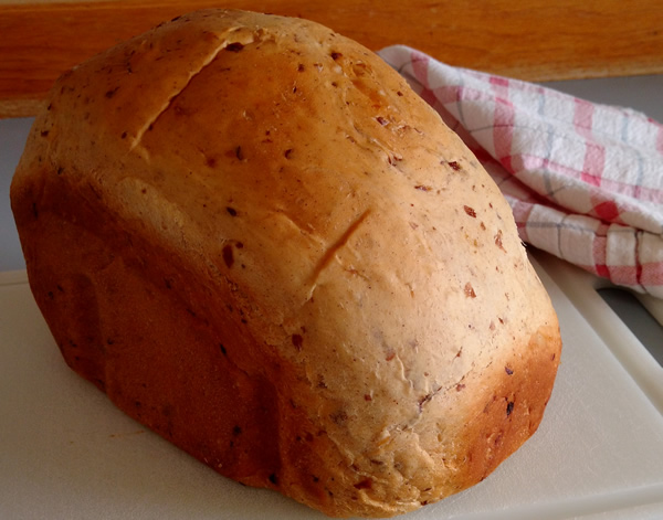 Eggnog Bread without Eggnog
