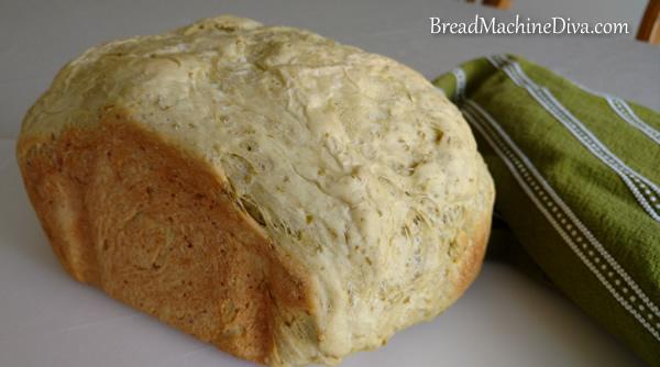 crust on pea bread