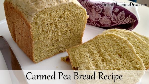 canned pea bread recipe