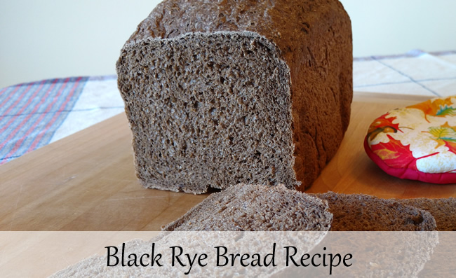 Black Rye Bread Recipe