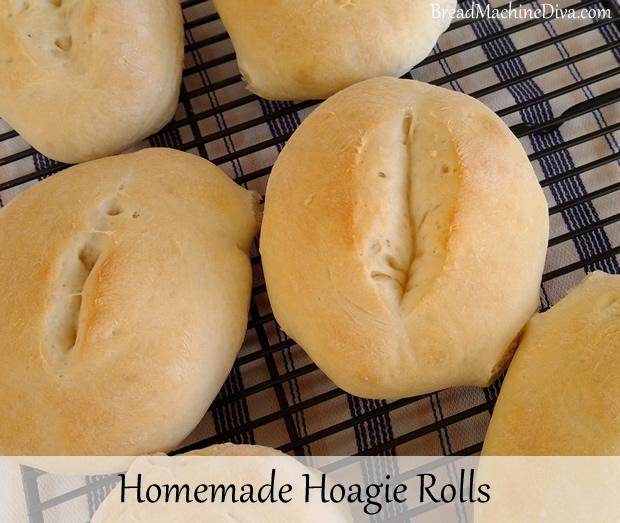 Homemade Hoagie Rolls