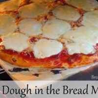 Bread Machine Pizza Dough Recipe
