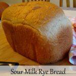 Sour Milk Rye Bread
