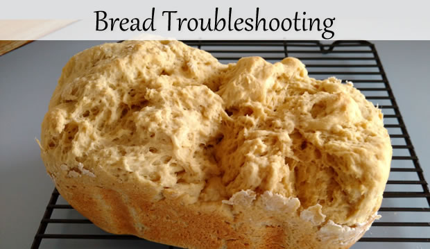 Bread machine Troubleshooting