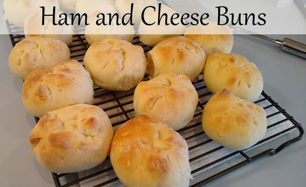 Ham and Cheese Buns