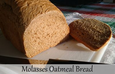 Molasses Oatmeal Bread