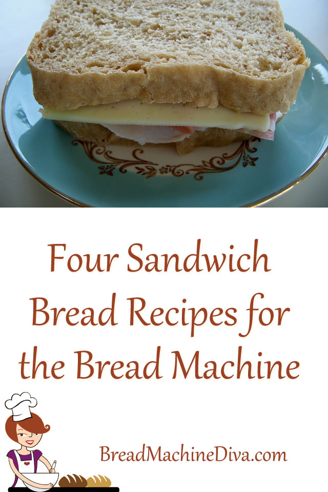 Four Sandwich Bread Recipes for the Bread Machine