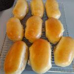 Challah hot dog buns